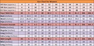 Us To Eu Size Chart Clothing Best Womens Fashion Online Shopping Get Worldwide Shipping