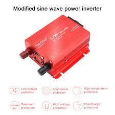 Boost güç inverteri 1000W ab araba güneş güç inverteri için laptopPortable  usb şarj aleti dönüştürücü araç güç kaynağı invertör Car Inverters