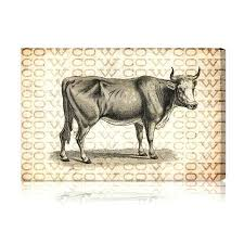 wall art for bathrooms nz cow artwork trends farmhouse gal a