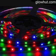 amazon com 1m 2835 red green blue led strip rgb controller 9v 1m 2835 red green blue led strip rgb controller 9v battery connector glowhut com