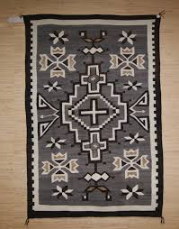 Brilliant Blue Navajo Rugs Circa 2014 Two Grey Hills With On Decor