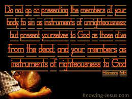 They assert that, under the new covenant, the believers' instrument is the human voice. 40 Bible Verses About Instruments