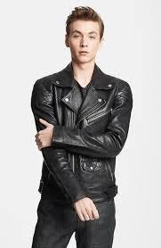 black leather biker jackets blk dnm leather jacket 31 leather moto jacket