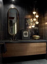 black bathroom. Beautiful Black Bathrooms Bathroom Taps Ideas Martis Camp Retreat Jamie Bush Kindesign Da Af D Full