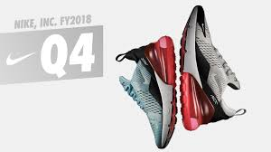 Nike Shoe Sales Chart Nike Inc Reports Fiscal 2018 Fourth Quarter And Full Year