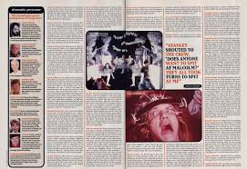 a clockwork orange kubrick and burgess vision of the modern flashback 1972 a clockwork orange courtesy of neon magazine scans