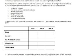 Ms Word Business Plan Template Microsoft Word Business Plan Template Download Business Plan