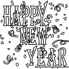 Small Picture new years eve coloring pages 2017 new year 2016 black and white