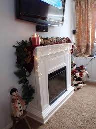 decoration living room with shabby chic wall electric fireplace black frame glass electric wall fireplace on a theme living room