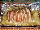 Свинина в духовке с овощами в фольге рецепты 119