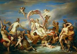 painting painting triumph of venus by anonymous