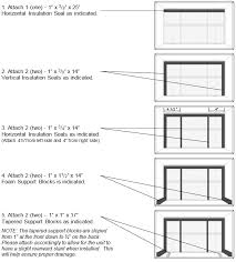 instructions for other compatible wall sleeves can be found in the alternate and supplemental installation instructions found in this doent