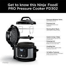 pressure cooker air fryer ninja foodi