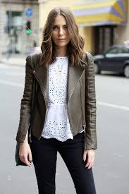 leather jacket for fall the colored leather jacket