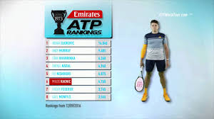 emirates atp rankings 13 september 2016