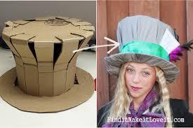 diy mad hatter hat 2