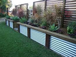 metal fence designs. Corrugated Fence Ideas . Steel Panels Metal Designs