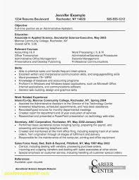 Education Resume Objective Examples Inspirational Cna Resume Sample ...