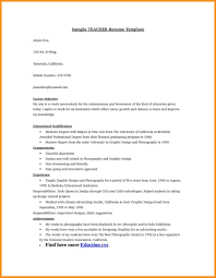 Resume For Computer Job Career Objective For Teacher Resume Fresher Objectives Computer 42