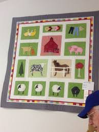 21 best Southwestern Quilts and Textiles images on Pinterest ... & Farm Animal quilt from the