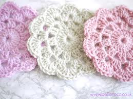 Free Patterns Crochet Simple Crochet Coasters Pattern FREE Pattern And Video Tutorial