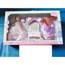 Hộp búp bê barbie bàn trang điểm lớn, siêu đẹp