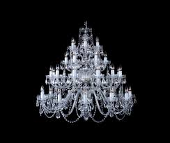 36 arms bohemian crystal chandelier cl0571 36 nickel