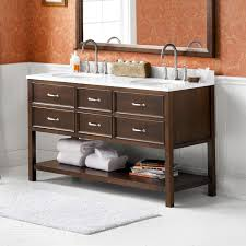 60 Bathroom Cabinet Ronbow Newcastle 60 Double Bathroom Vanity Set Reviews Wayfair
