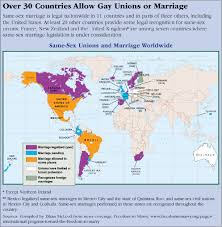gay marriage cqr over 30 countries allow gay unions or marriage