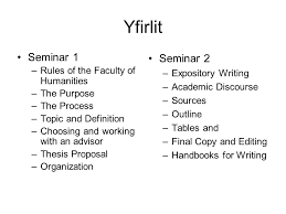 writing a ba essay rules and guidelines yfirlit seminar rules purpose the process topic and definition choosing and working an advisor thesis proposal organization seminar 2 expository writing academic