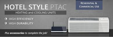 hotel style heating and cooling units