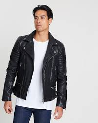 premium classic leather jacket by superdry the iconic australia
