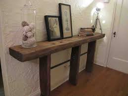 entryway table diy entryway table creating inviting impression at the first sight home living ideas backtobasicliving com