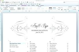 wedding top table seating plan template charts