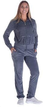 Womens Designer Sweat Suits Womens Velour Tracksuit Set 2 Piece Active Velour Jogging Suits Outfits Hoodie Pant