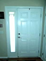 sidelight curtain panel ds over front door diy glass panel door