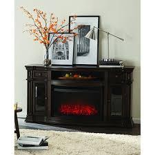 Ebony Media Console Fireplace W Reversible Inserts  Samu0027s ClubSams Club Fireplace