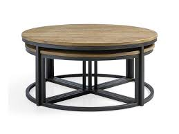 accent tables nest of three tables dark nest of tables glass stacking coffee tables gold round