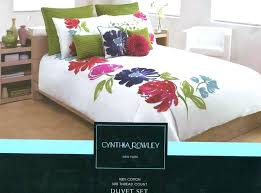 unique bedding collections queen size luxury fl duvet cover set cynthia rowley comforter sheets