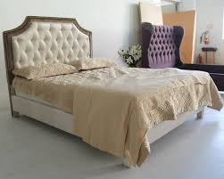 Upholstered headboards beds furniture popular in China market