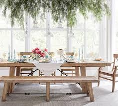 benchwright extending dining table seadrift