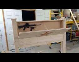 Hidden Gun Coat Rack Hidden Gun Rack Plans Gun rack headboard amazing Storage 93