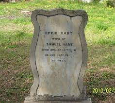 Effie (Euphemia) Hart (Corinaldi) (1860 - 1946) - Genealogy