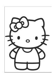 Unique Hello Kitty Online Coloring Ornament Coloring Page Ideas