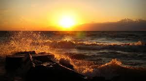 ocean sunset wallpapers. Delighful Sunset Hd Ocean Sunset Wallpaper  905209 On Wallpapers H