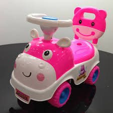 Lovely Pink Color Mini Baby Car Style Baby Walkers For Girls - Buy ...
