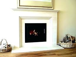 black granite fireplace surround absolute