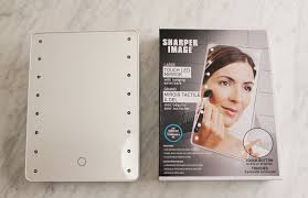 dreams of velvet sharper image led mirror 8