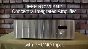 Rowland Design Group Jeff Rowland Concentra For Sale On Ebay April 2015 Youtube