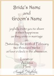 invitation wording for wedding ceremony only invitation ideas invitation wording for wedding ceremony only